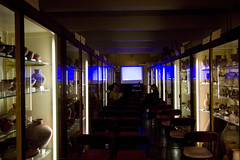 The Mummy's Shroud Film Screening at the Petrie Museum, London (vintagedept) Tags: london film event ucl horror screening egyptology themummysshroud hammerfilmproductions heritagekey ancientworldinlondon event7746 petriemuseumofegytianarchaeology
