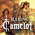 Raising Camelot Button