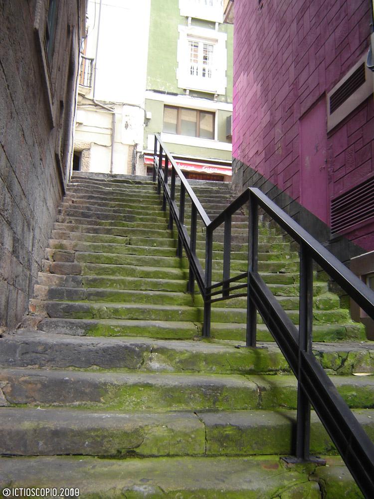 Escaleiras em Xixón II