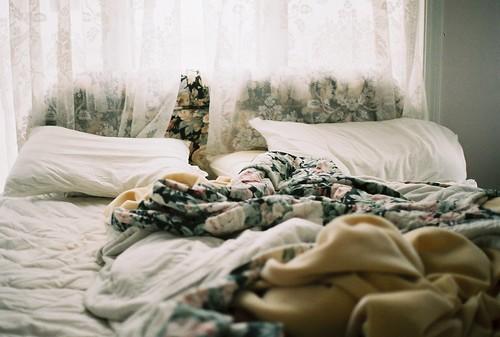I wake up and i feel alone.