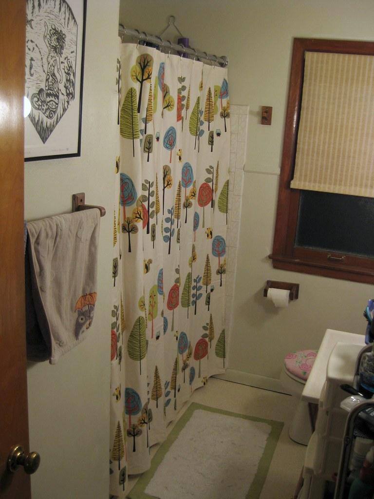 revamped bathroom