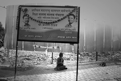 Politics Is A Funny Game (firoze shakir photographerno1) Tags: flickr politics streetphotography facebook timesofindia twitter mumbaimirror firozeshakirpoetry googlebuzz streetlifebandra politicsisafunnygame beggarpoetofmumbai poemsbyfirozeshakir
