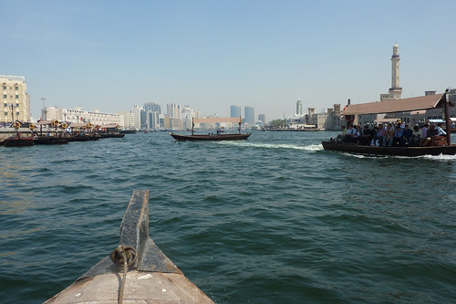 Dubai Creek on Abra