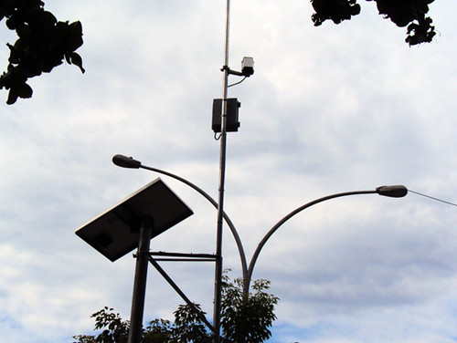 Luz solar e vigilância