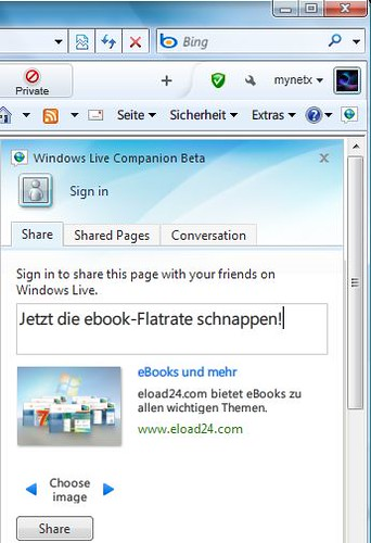 Windows Live Messenger Companion