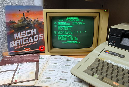 Game Apple II / Mech Brigade SSI