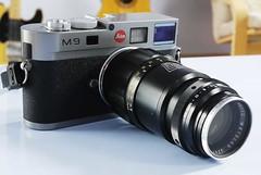 Leica M9 135mm F4 Tele-Elmar lens