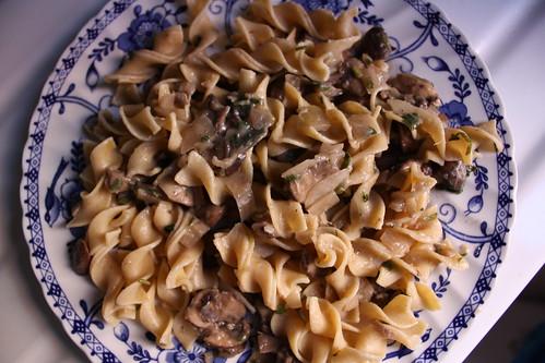 No Cream Wild Mushroom Sauce