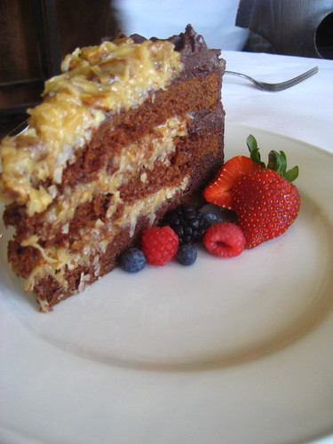 German Chocolate Cake Bistro Aix