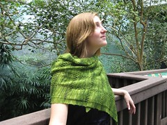 Emerald Starling Shawl Pattern