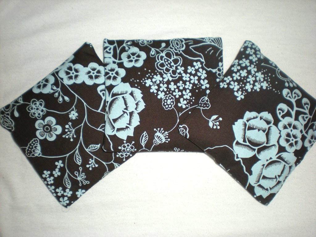 Brown & Blue Lavender Sachets