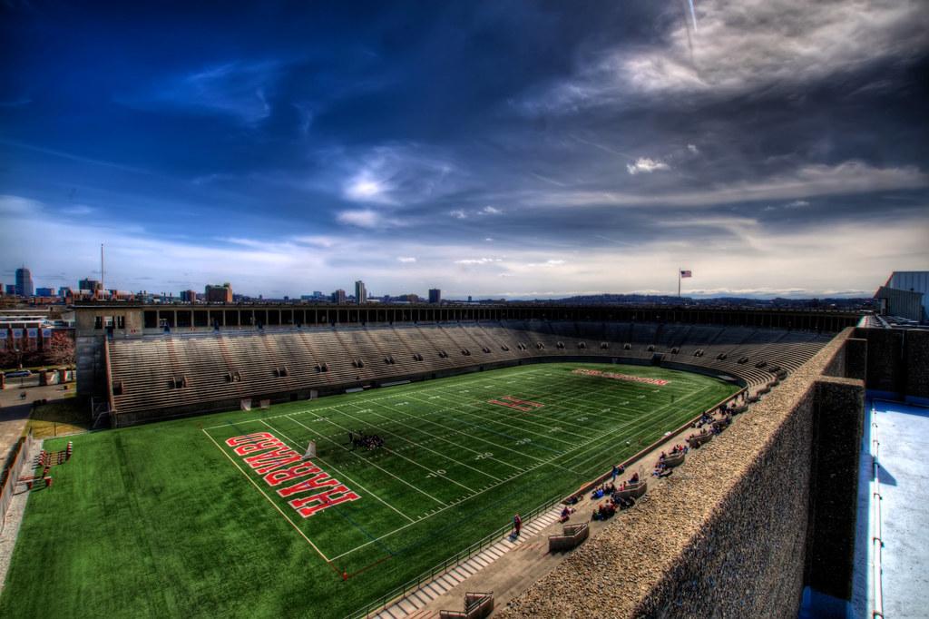 Harvard Coliseum.