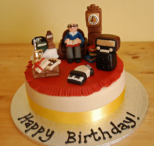 Nostalgic Old Man Cake Beautiful Birthday Cakes