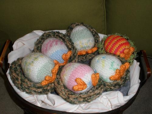 Easter Eggs with Leggs