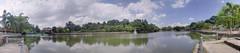 Panorama of the Perdana Lake Gardens