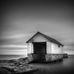 Private Property (Jeff Gaydash) Tags: longexposure blackandwhite water square seascapes greatlakes lakescapes nd110