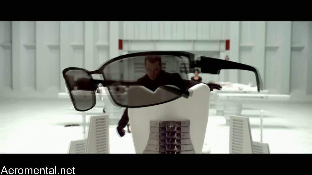 Resident Evil Afterlife glasses Wesker