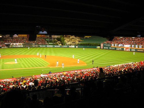 Opening Day at Night