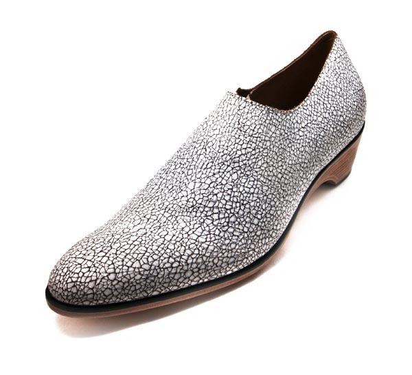 Figura 04 Shoes38_Plain Mini Boot in Eggshell Finished Calf