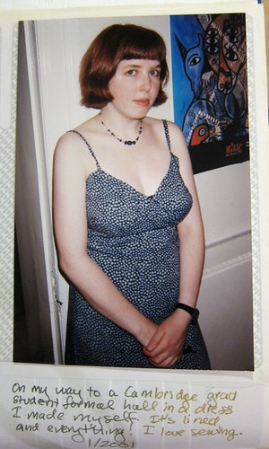 From the Mikhaela Sewing Archives, 2000-2001