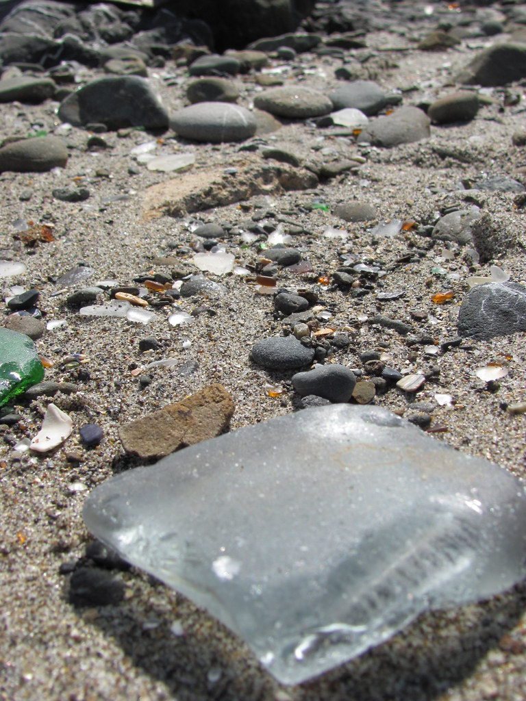Glass Beach, Ft. Bragg, California