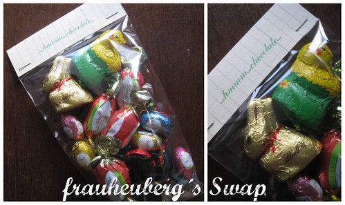 frauheuberg´s Swap...this week...