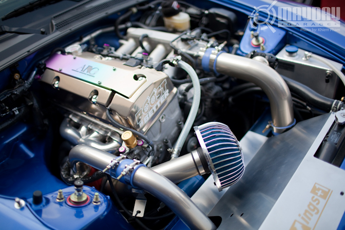A boosted S2K bay is nothing to scoff at.