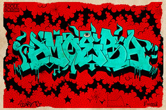 this amoebas got a mind of it's own... (Skary McLairy) Tags: amoeba graffiiti adolescents skary