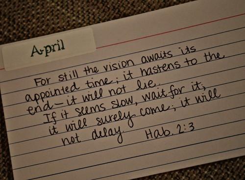 April's Verse