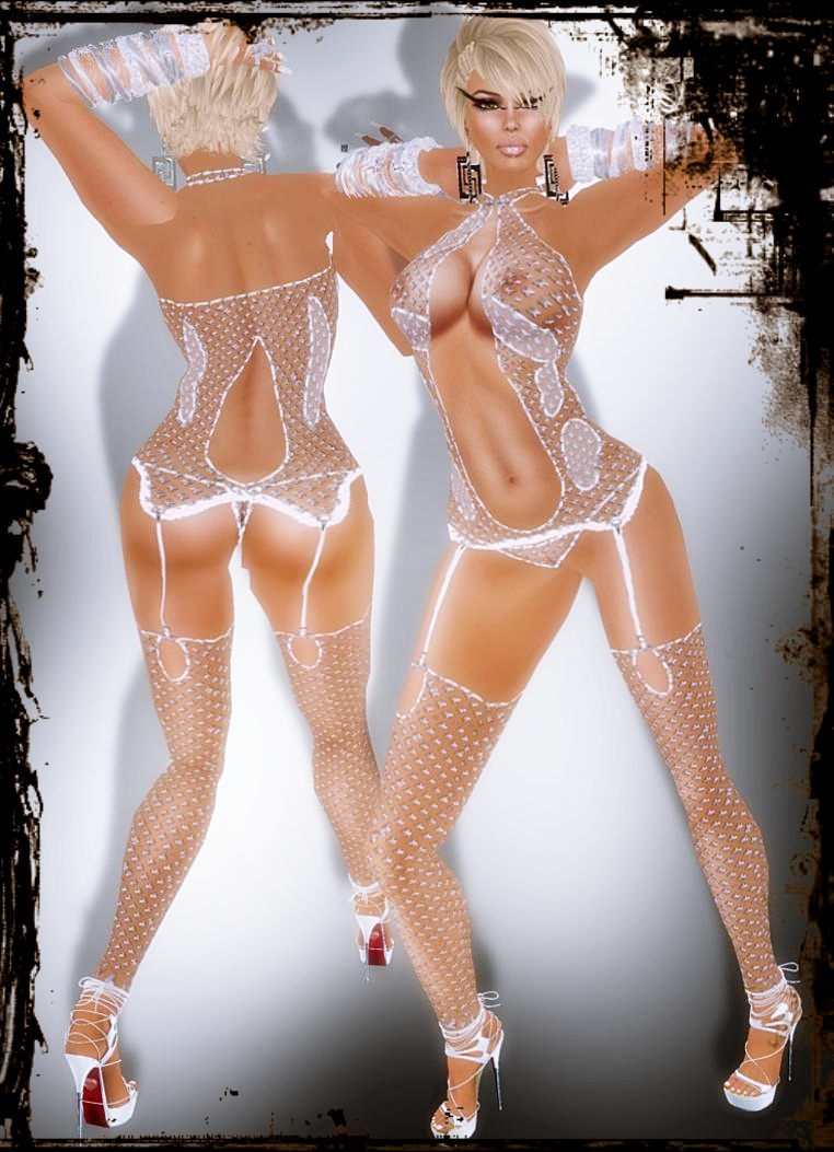 A&A Fashion Lingerie Set white