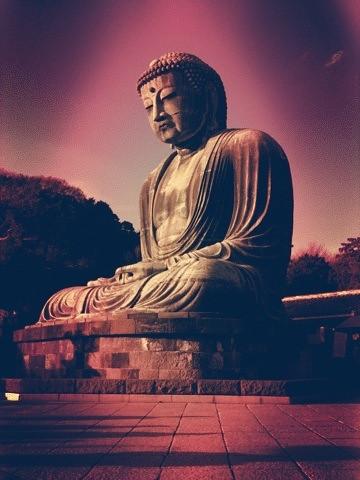 早速投稿。鎌倉の大仏さん。