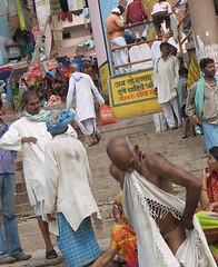 Bather 1.6 Varanasi (amiableguyforyou) Tags: india men up river underwear varanasi bathing dhoti oldmen ganges banaras benaras suriya uttarpradesh ritualbath hindus panche bathingghats ritualbathing langoti dhotar langota