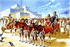 Ancient Iraq (cool-art) Tags: old horses asian iran iraq east empire syria civilization times babylon iraqi mesopotamia ziggurat syrian sumer assyrian sumerian akkadian sumeria middel