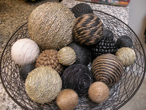 Decor Ball Overload Tutorial House Of Hepworths Simple Natural Decorative Balls