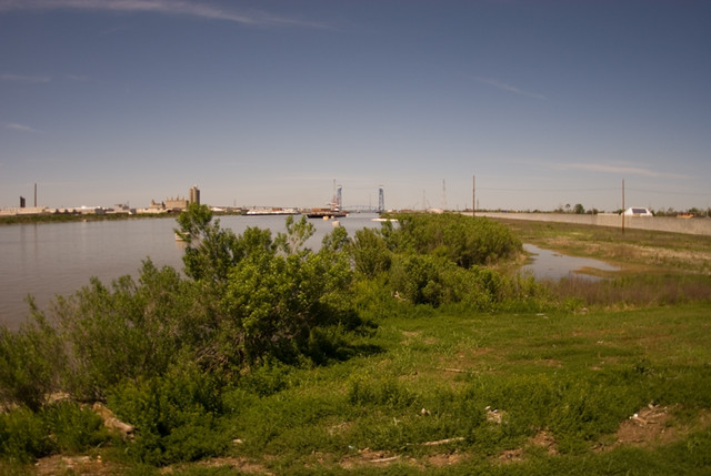Industrial Canal near Lower Ninth Ward - New Orleans