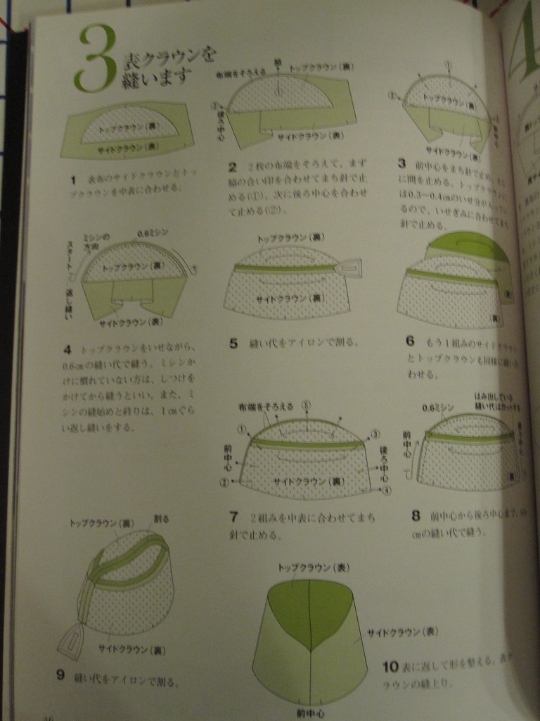 Instruction sheet in Stylish Cloche