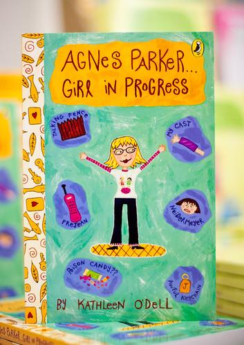 "Agnes Parker . . . Girl in Progress, by Kathleen O""Dell"