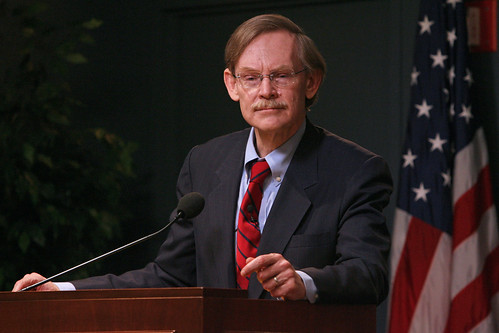April 14, 2010 - Washington DC - World Bank Group President Robert B. Zoellick speaks at Woodrow Wilson International Center for Scholars in Washington DC