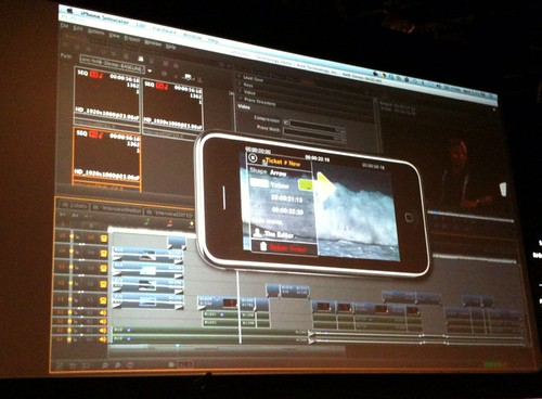 Avid web based editing iPhone approval