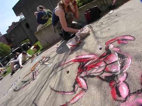 Andrea Chalks Crabs