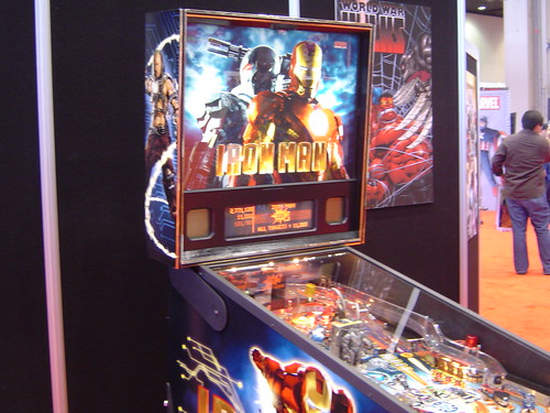 Iron Man Pinball