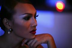 When a man becomes a woman.... (N A Y E E M) Tags: portrait thailand availablelight bangkok indoors drunkphotography ladyboy hotelintercontinental chitlom canoneos5d canonef135mmf2lusm fbar nayeemkalam