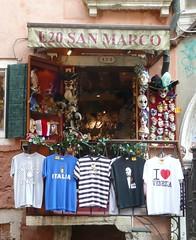 Souvenir Shop in Venice