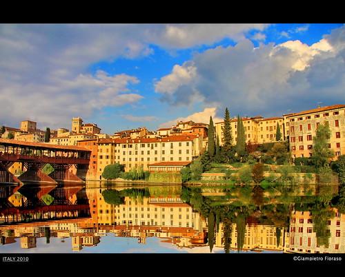 il ponte di Bassano del Grappa....