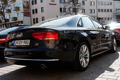 IMG_0739_DxO_raw (bb_productionz) Tags: show black cars wiesbaden shuttle vip presentation audi dtm 2010 prsentation a8