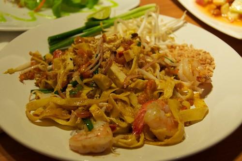 鮮蝦泰式炒河粉