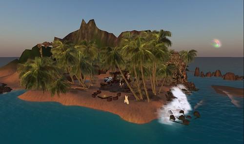 bassline island open stage