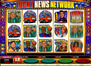 Lucky News Network slot game online review