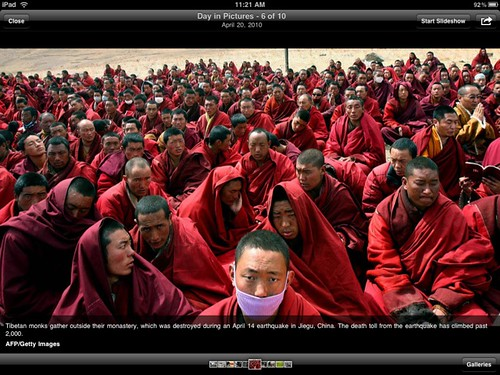 USA TODAY for iPad: Photo of Monks