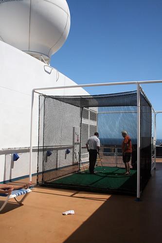 Carnival Spirit - Golf Cage